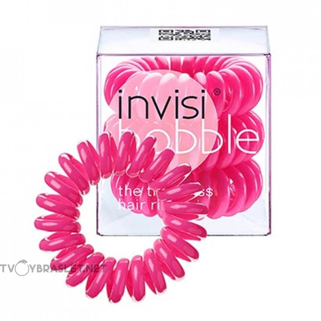 Резинка-браслет для волос invisibobble Original Candy Pink Розовый Леденец 3 шт