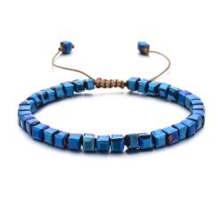 Браслет женский Керамика Синий Перламутр Твой Браслет CERA012