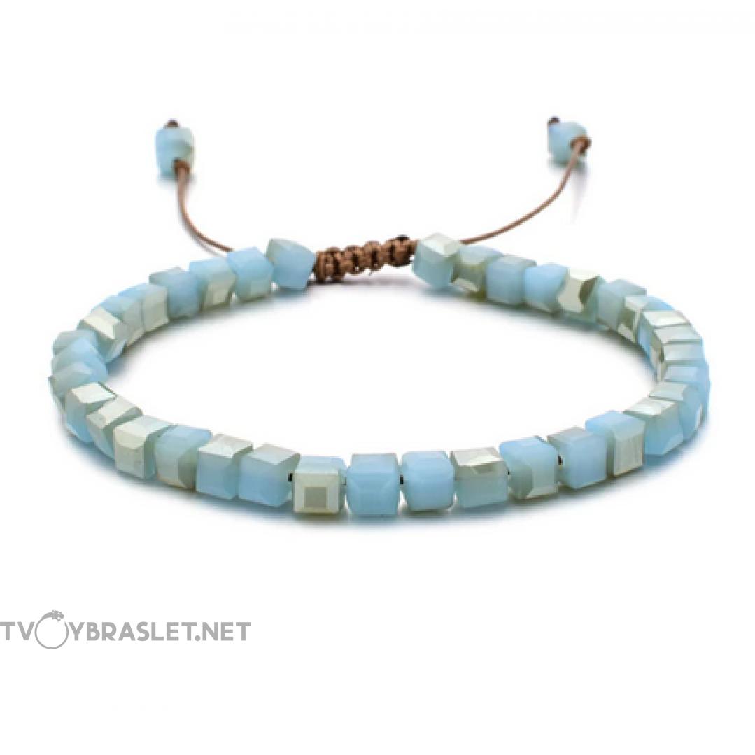 Браслет женский Керамика Нежно-бирюзовый Твой Браслет CERA002