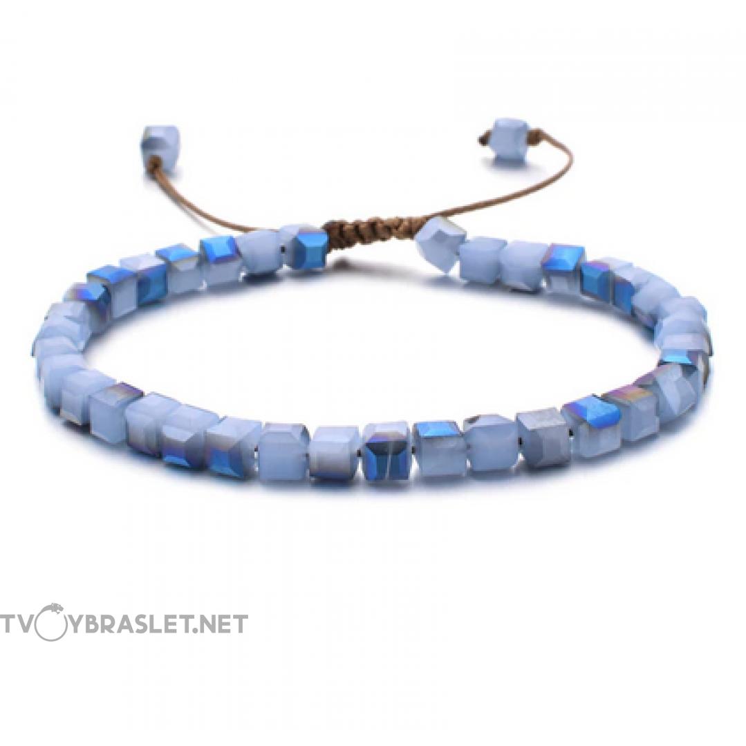 Браслет женский Керамика Нежно-голубой Твой Браслет CERA004