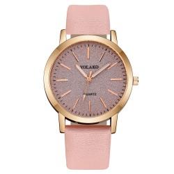 Часы наручные женские кварц Yolako Звездное Небо розовая пудра CLC102