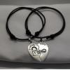 Комплект браслетов Сердце 2 шт Твой Браслет DBL001