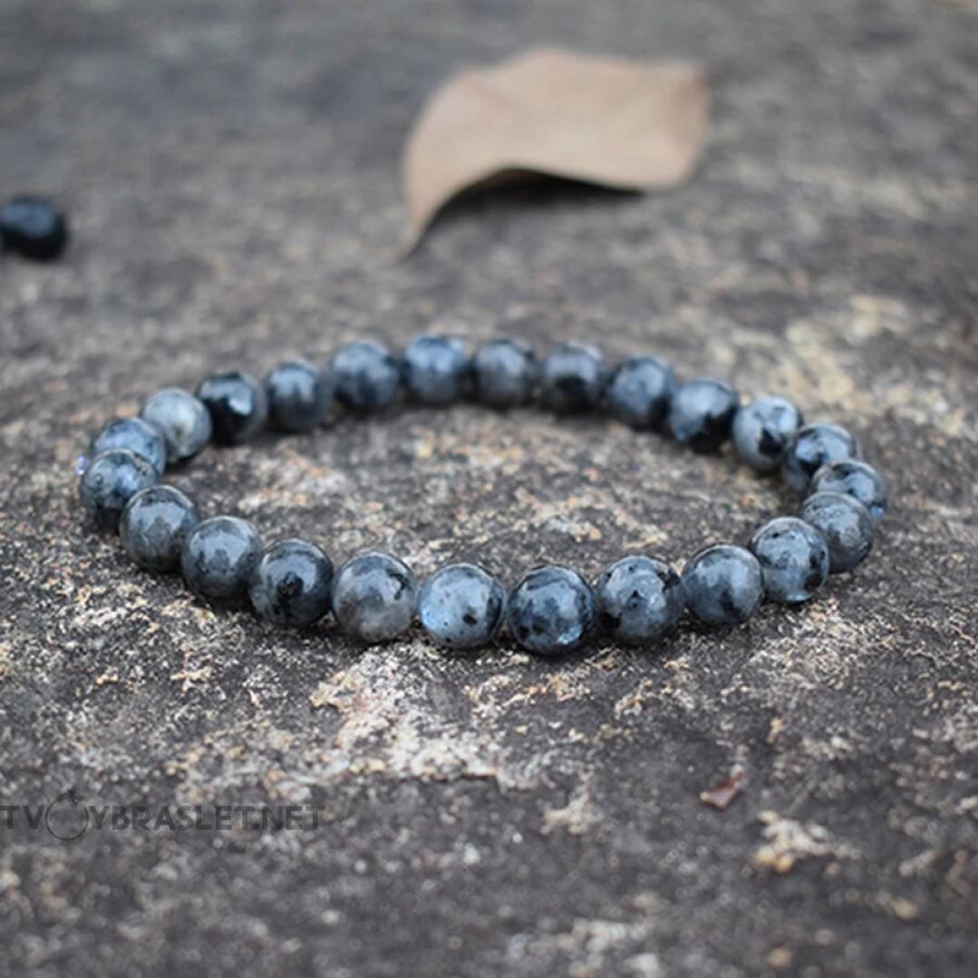 Браслет из натурального камня Лабрадорит Твой Браслет NK043