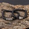 Комплект браслетов Лава Дракон 2 шт Твой Браслет NK056