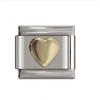 Звено к браслету Nomination 9 мм Золотое сердце NMN001-006