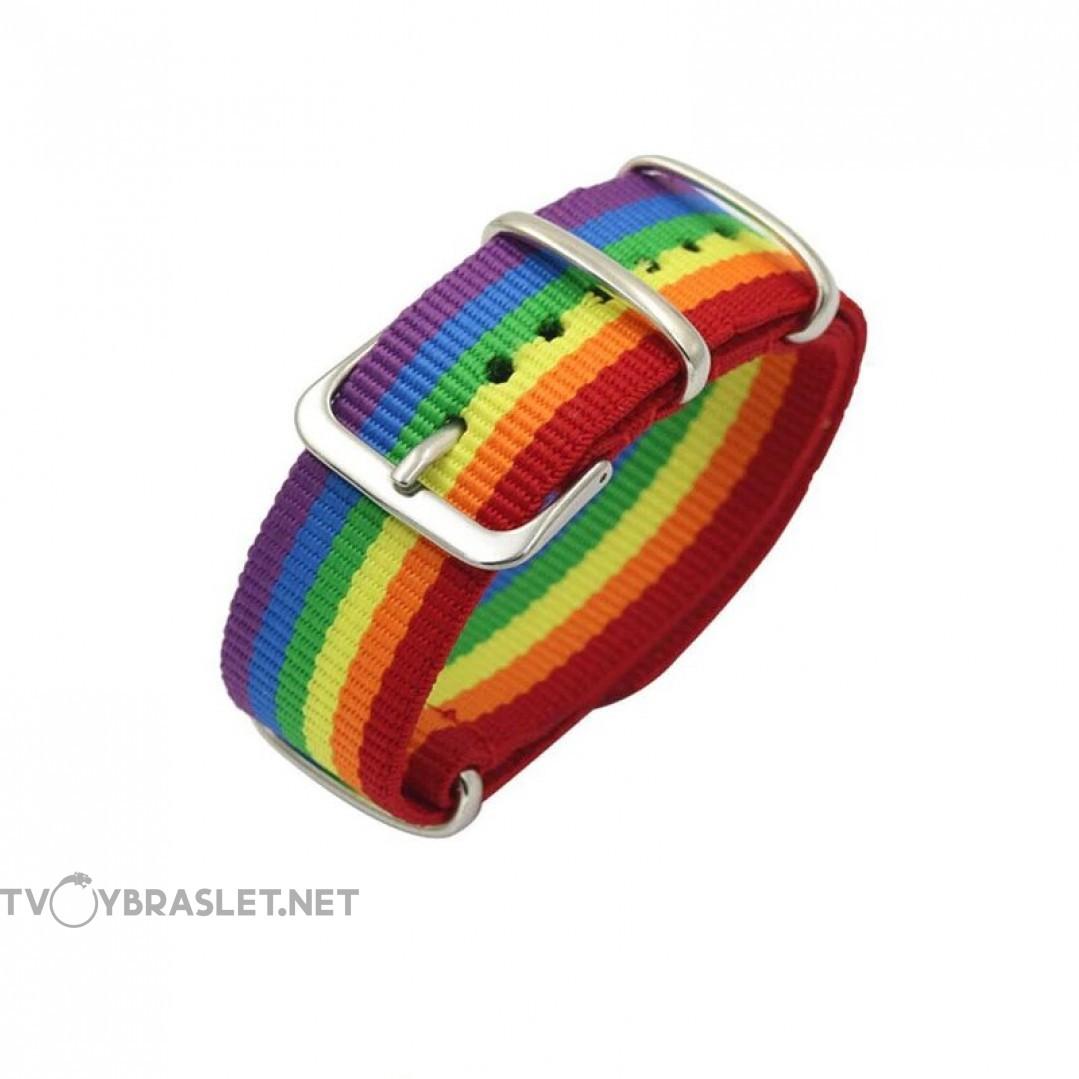 Браслет-ремень разноцветный Твой Браслет RND102