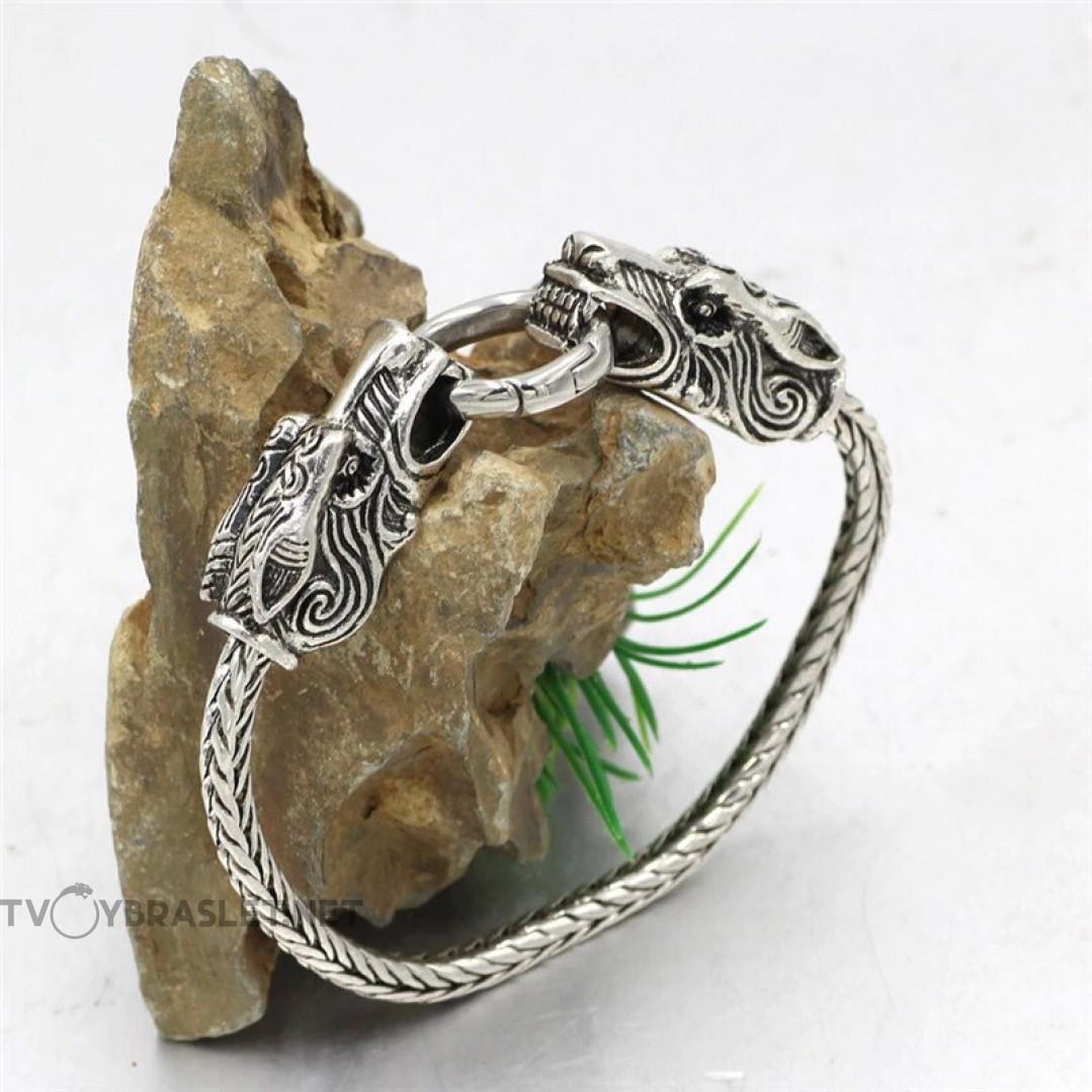 Браслет кольцо дракона Твой Браслет RND112