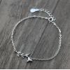 Браслет серебряный женский SLV108