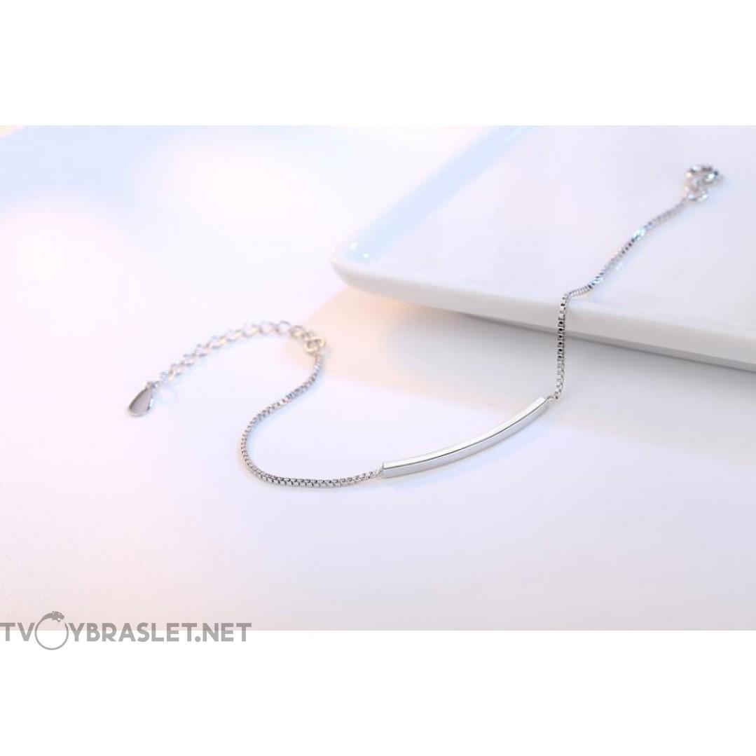 Браслет серебряный женский SLV105