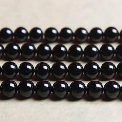 Оникс черный натуральный камень Твой Браслет 8 мм ST102