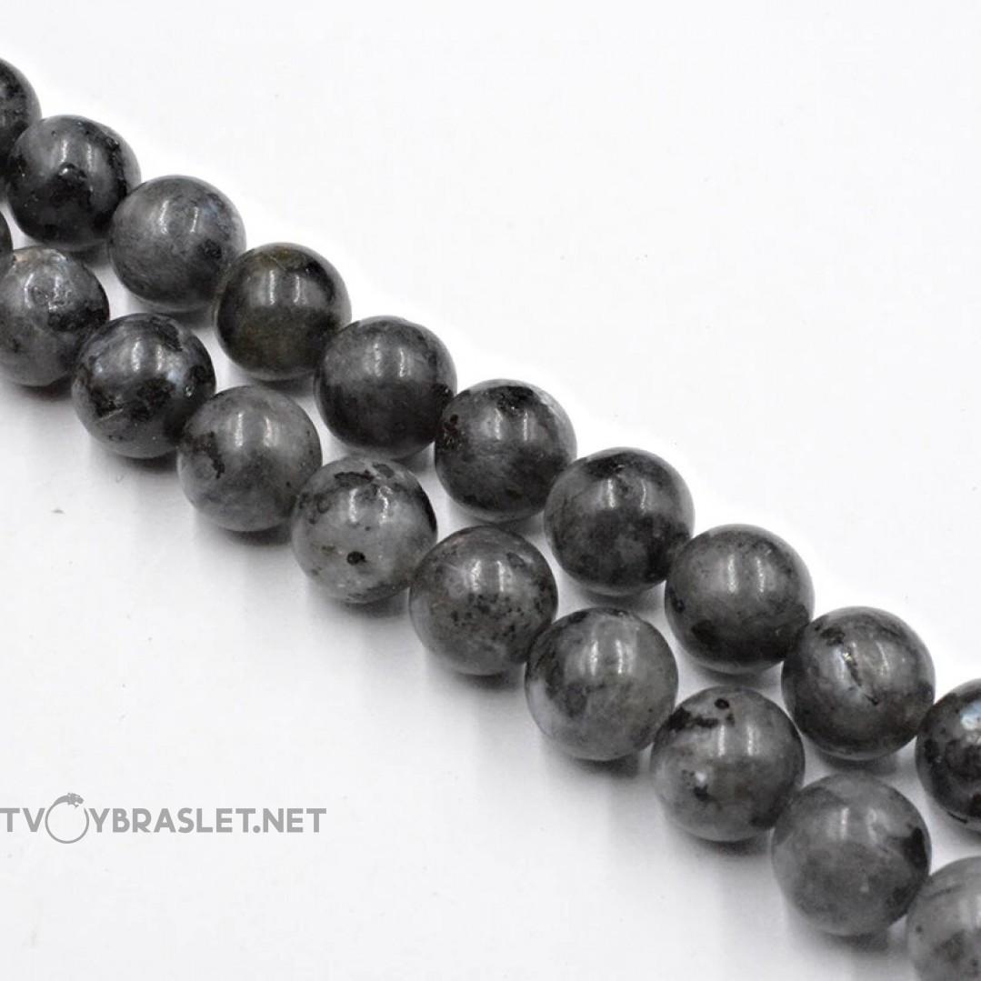 Лабрадорит натуральный камень Твой Браслет 8 мм ST106