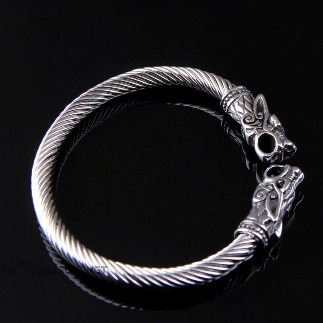Браслет из нержавеющей стали Кольцо Драконы Твой Браслет STL001